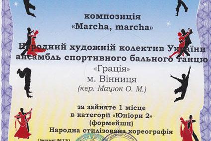 VI чемпіонат України серед танцювальних колективів. СГОСТУ.